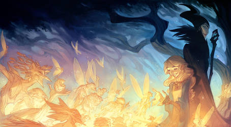 The Curse of Maleficent - Full Wraparound Cover by nicholaskole