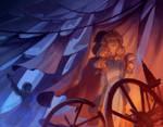 Maleficent - The Spinning Wheel by nicholaskole