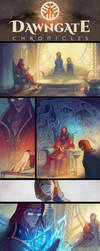 The Dawngate Chronicles - Page 27 + 28 Preview by nicholaskole