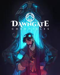 Final Dawngate Chronicles Cover by nicholaskole