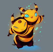 Bee Buddies by nicholaskole