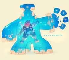 Jellybots - Izak! by nicholaskole