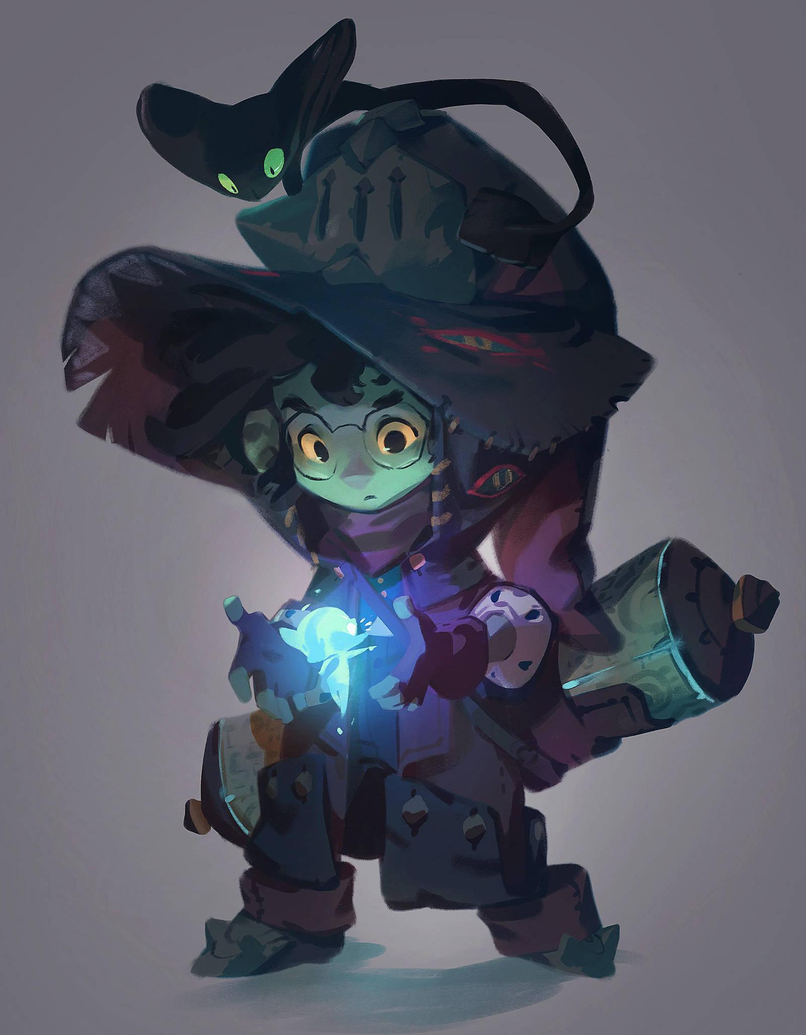 Little Wizard by nicholaskole