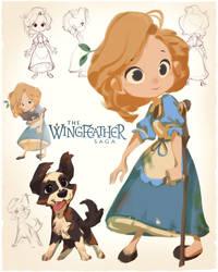 Wingfeather Saga - Leeli by nicholaskole