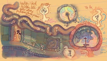 Jellybots - Lizzie's Notebook by nicholaskole