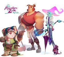 The Adventure Zone - Tres Bois by nicholaskole