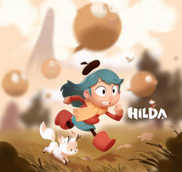 Hilda: The Series by nicholaskole