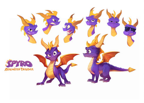 Spyro Reignited: Spyro The Dragon by nicholaskole