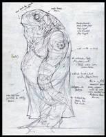 Sketchbook - Vodyanoi by nicholaskole