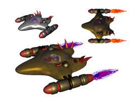 spaceship study by subaddiction