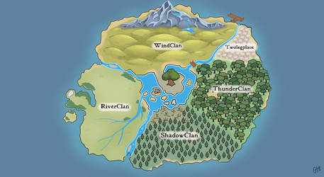 EOTS - Terrain Map by AcornArtStudio
