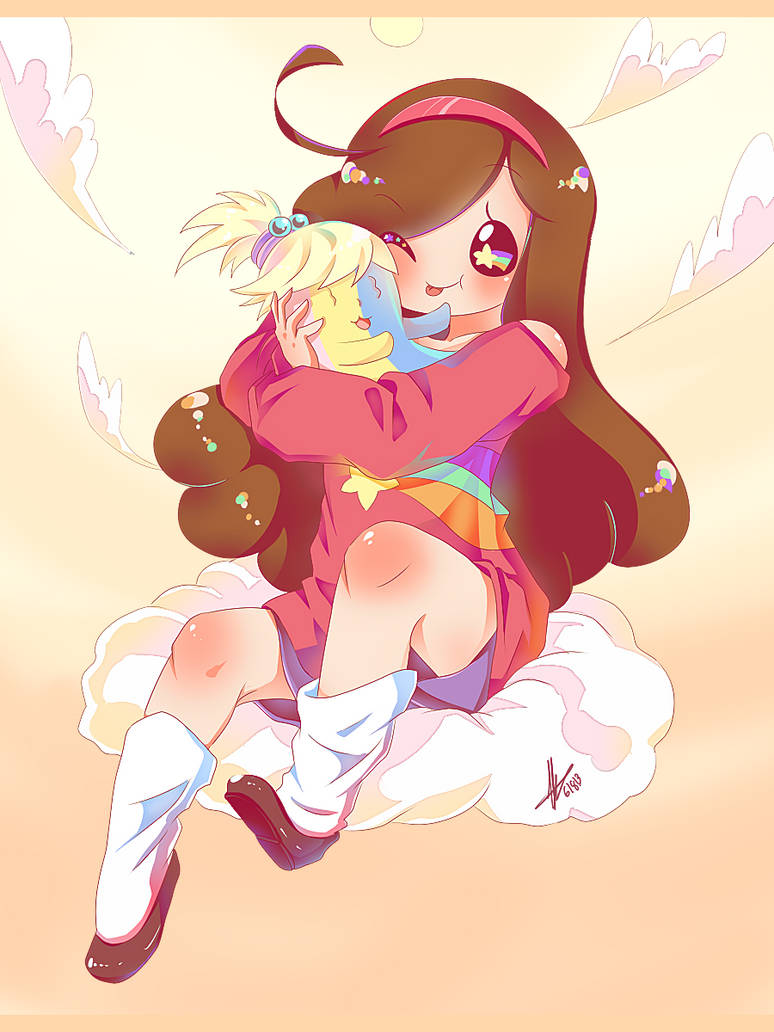 Mabel and Jake Jr. by piketta