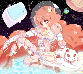 Bee and Puppycat by piketta