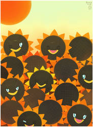 Sunflowers by Twime777