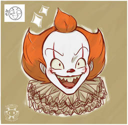 Expression Challenge - Excited Pennywise by Twime777