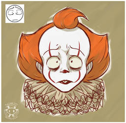 Expression Challenge - Disappointed Pennywise by Twime777