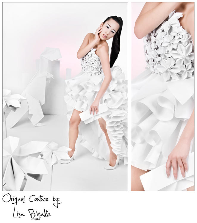Origami Dress by Fraeggle