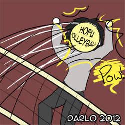 Volleyball by darlosworld