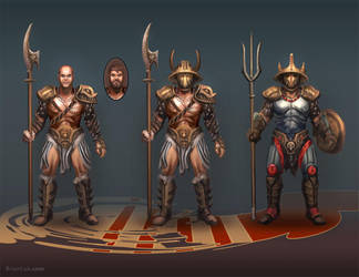 Gladiator Concepts by BrianLukArt
