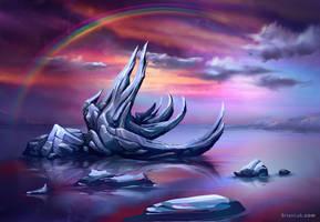 Iceberg by BrianLukArt