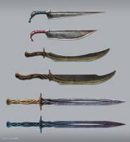 Sword Practice by BrianLukArt