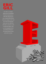 Eric Gill poster by ebuci