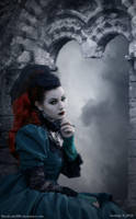 Mourning Vampire Lady by BlackLady999