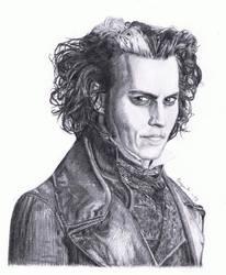 Sweeney Todd (Johnny Depp) by MarkusBogner