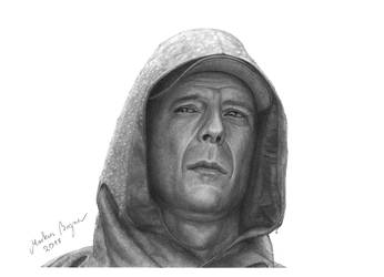 David Dunn (Bruce Willis - Unbreakable) by MarkusBogner