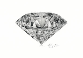 Diamond Drawing + YouTube Video by MarkusBogner