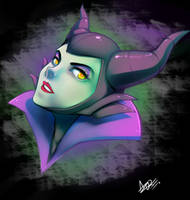 Maleficent by AzureBladeXIII