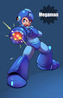 Megaman by AzureBladeXIII