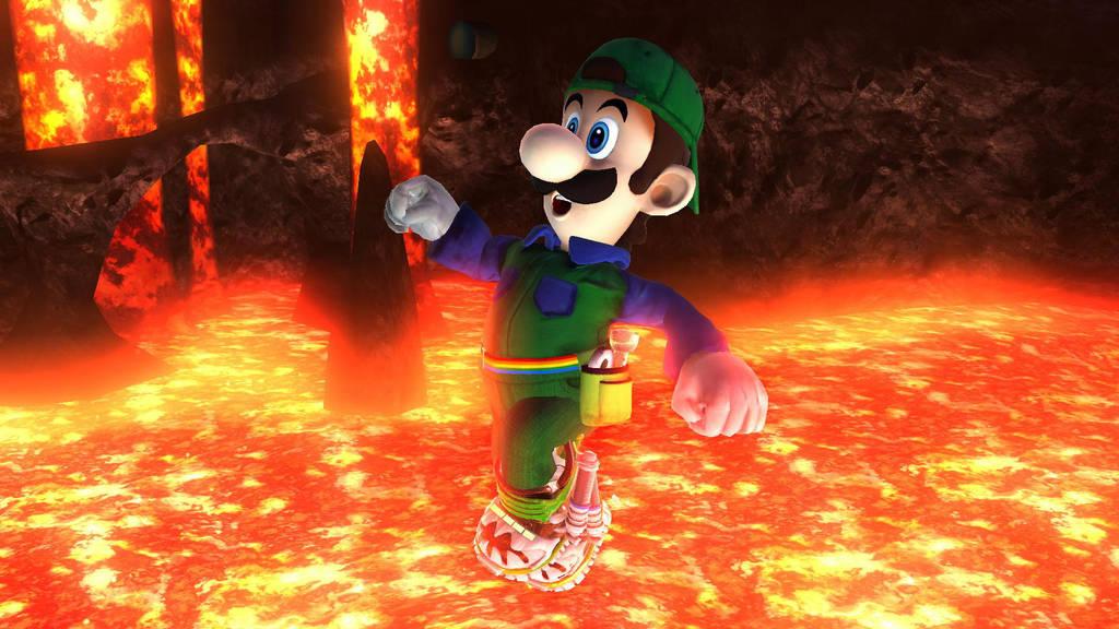 Movie Luigi by SCP-096-2