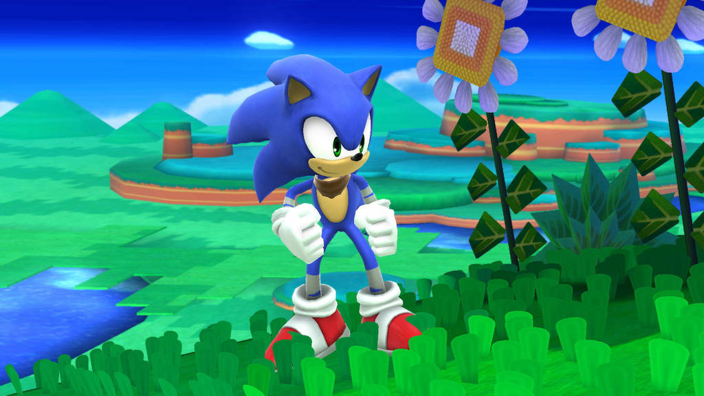 Sonic Boom Sonic by SCP-096-2