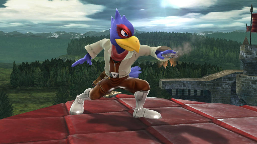 Melee Falco by SCP-096-2