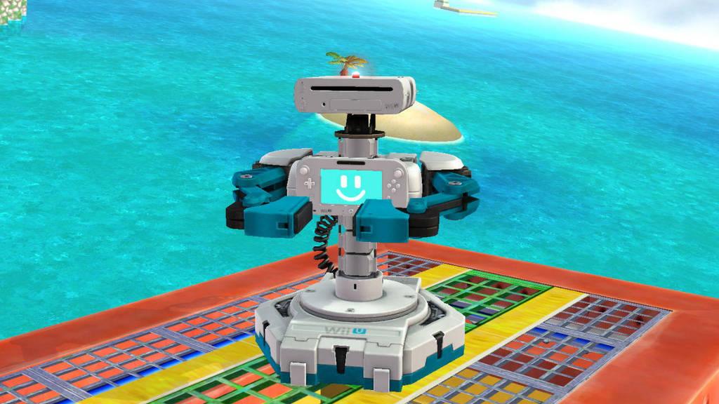 Wii U R.O.B by SCP-096-2