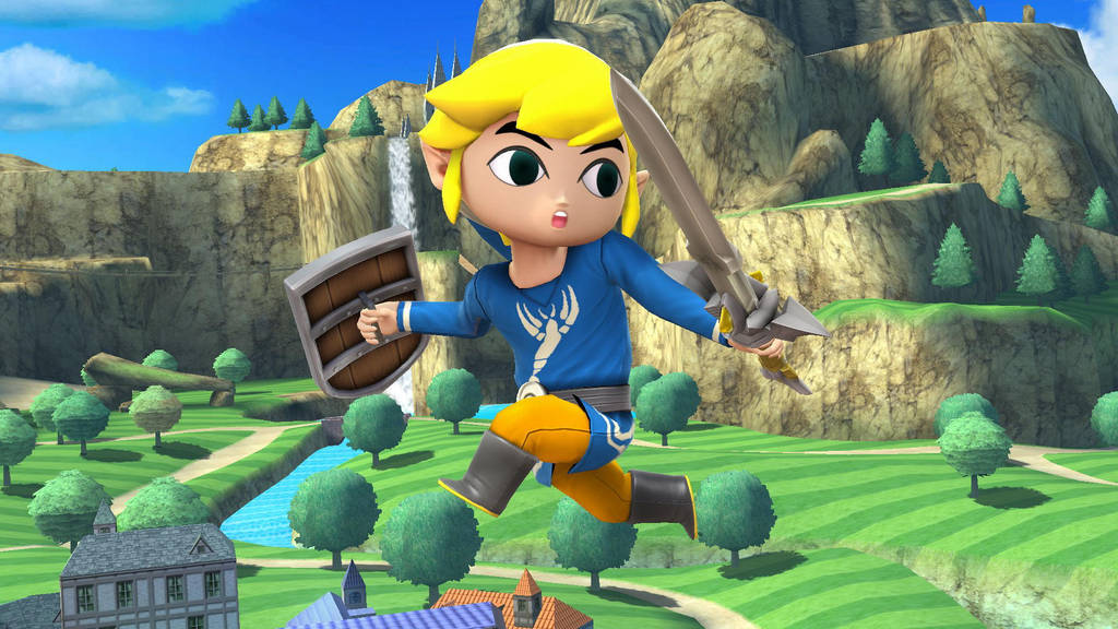 Outset Toon Link by SCP-096-2