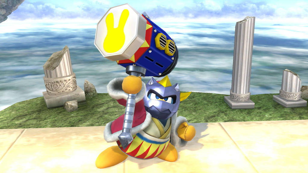 Masked King Dedede by SCP-096-2