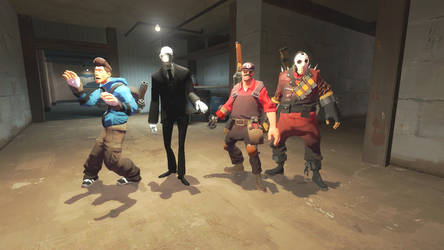 4 Man Team by SCP-096-2