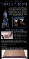 Korra Boots Tutorial by Very-Crofty