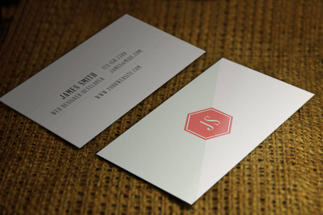 Retrovintage Style Business Card Template V1 By Psdstorm On Deviantart
