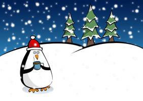 Happy pingvin by sekundek