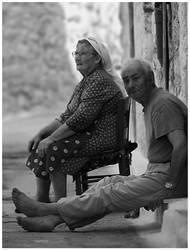 Old couple by sekundek