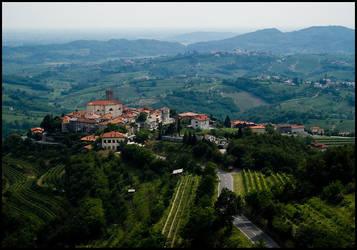 Village in gorisko by sekundek