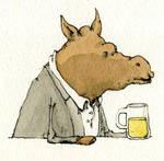 Alcoholism and animal 3 by MattiasA