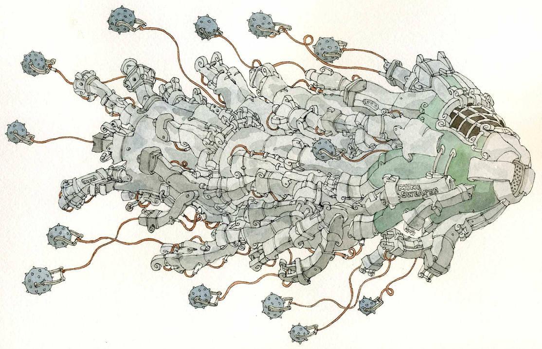 Sweeper of mines by MattiasA