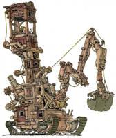 Newtonian digger by MattiasA