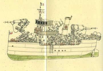 SS Pongo by MattiasA