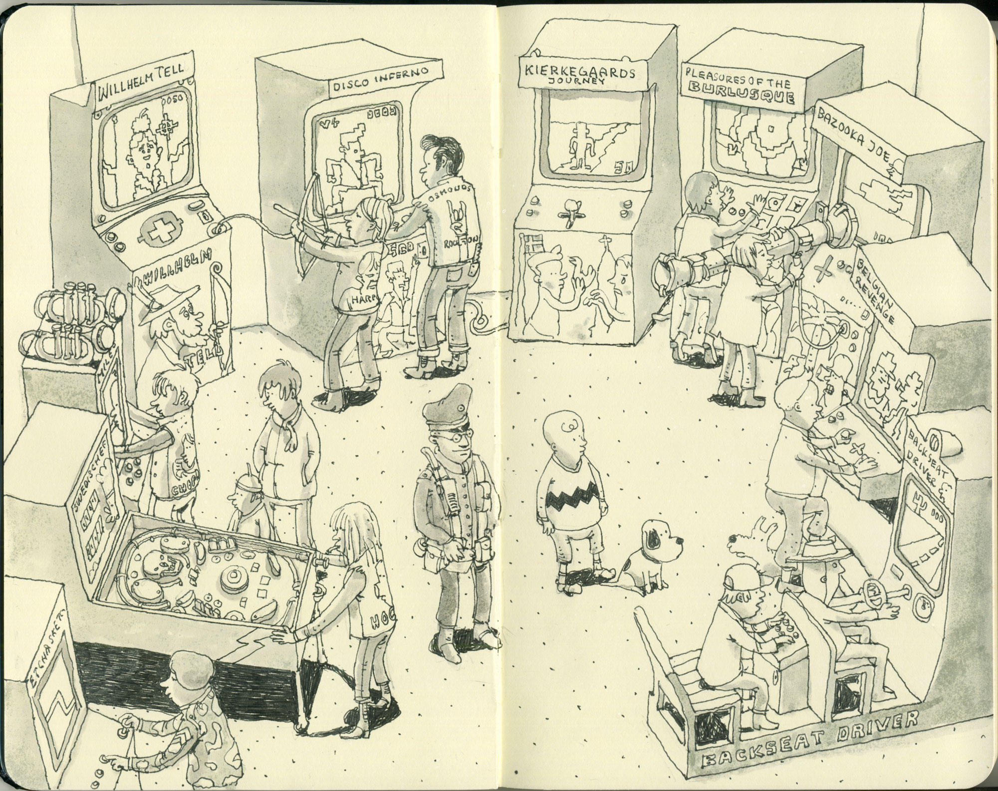 the arcade by MattiasA