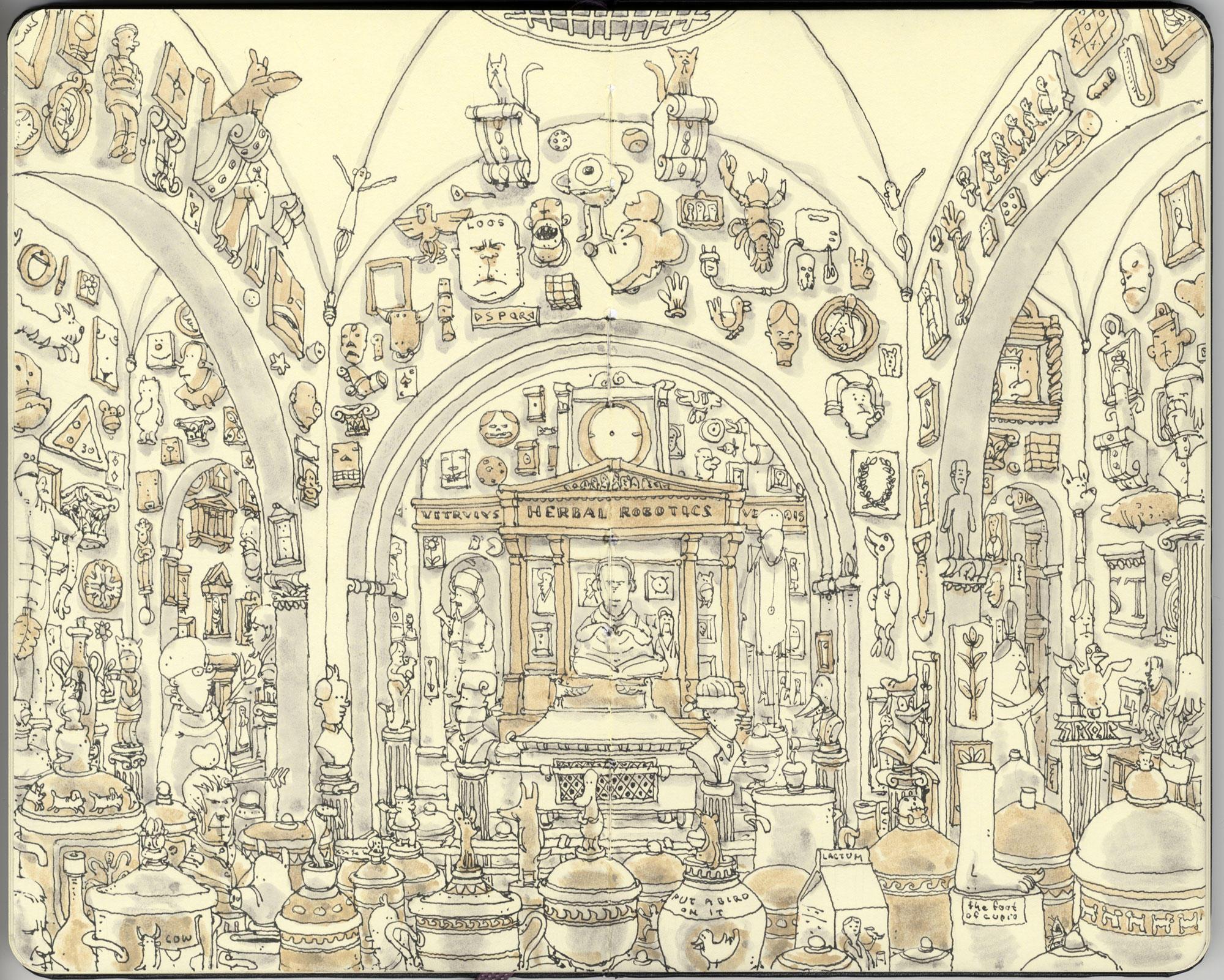 the Soane museum by MattiasA